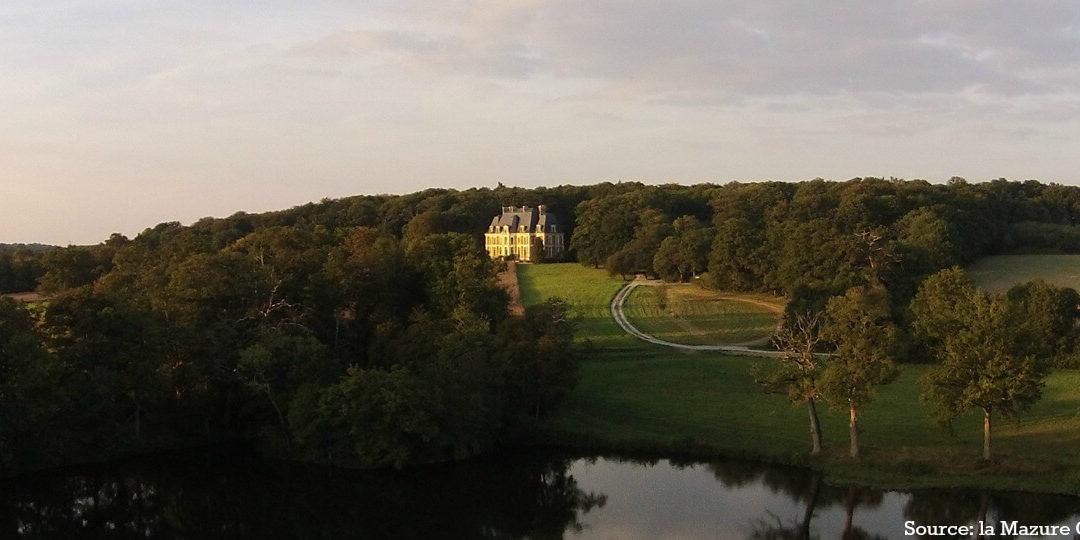 Qu'est-ce que la vie de château au château de la Mazure ? Interview du propriétaire