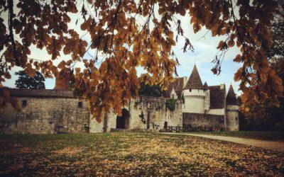 Des jeux pour tous au château de Bridoire en Dordogne