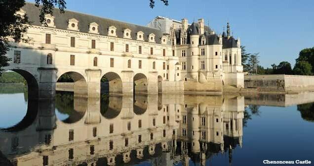 Dans la vallée de la Loire, le château des Dames