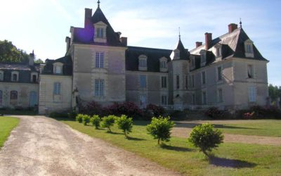 Family life at Gizeux Castle, in Touraine