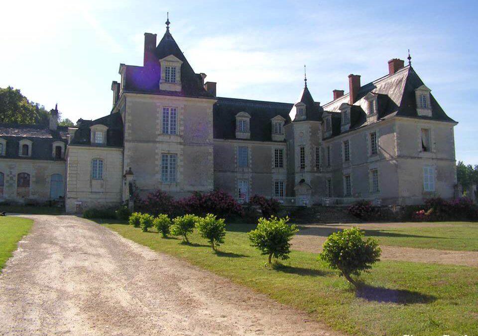 Vie de famille au château de Gizeux, en Touraine