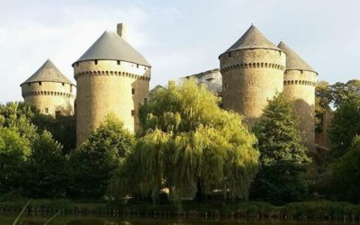 Lassay Castle in Mayenne, 8 living towers