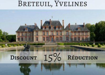Château de Breteuil, Yvelines