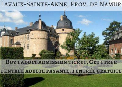 Château de Lavaux-Sainte-Anne, Province de Namur