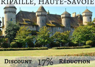 Château de Ripaille, Haute-Savoie