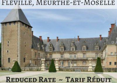 Château de Fléville, Meurthe-et-Moselle