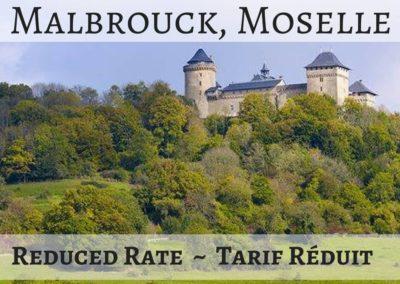 Château de Malbrouck, Moselle