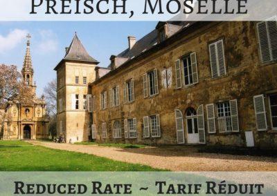 Château de Preisch, Moselle