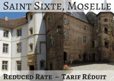 Château de Saint-Sixte, Moselle