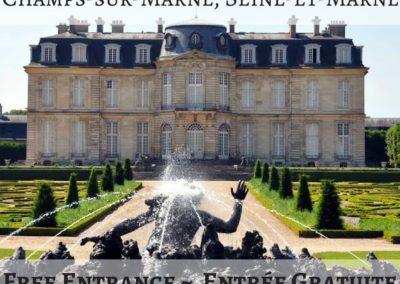 Château de Champs-sur-Marne, Seine-et-Marne