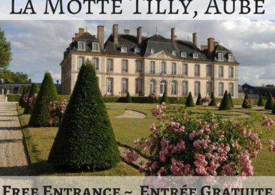 Château de la Motte Tilly, Aube