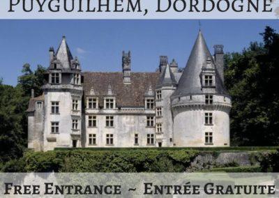 Château de Puyguilhem, Dordogne