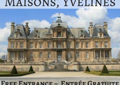 Château de Maisons, Yvelines