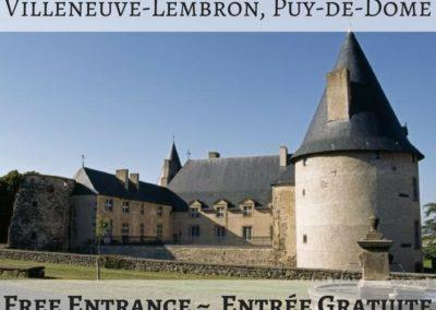 Château de Villeneuve-Lembron, Puy-de-Dôme