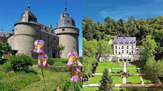 Buy your online tickets for castles tours in Belgium and France